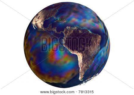 Globus Abbildung 3D