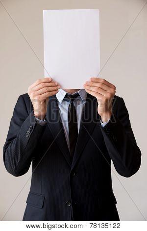 Paperwork In His Head.
