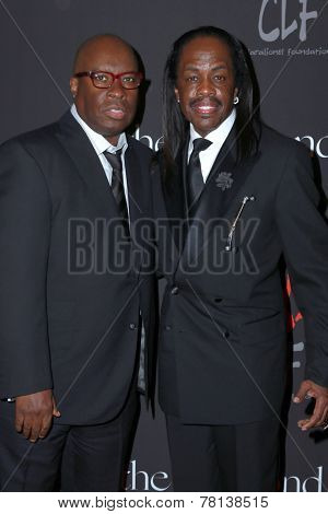 LOS ANGELES - DEC 11:  Guest, Verdine White at the Rihanna's First Annual Diamond Ball at the The Vineyard on December 11, 2014 in Beverly Hills, CA