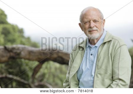 Old Man Outdoors