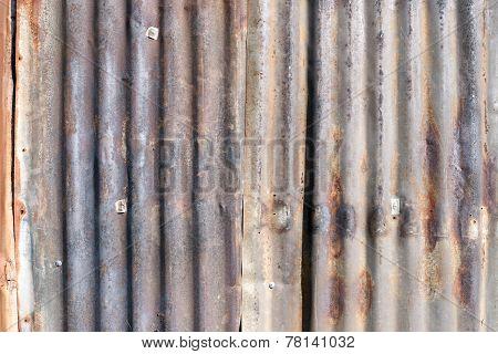 Old Zinc Wall.