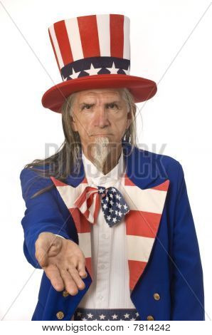 Uncle Sam Want's Your Money