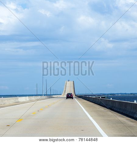 Crossing The Dauphin Island Bridge