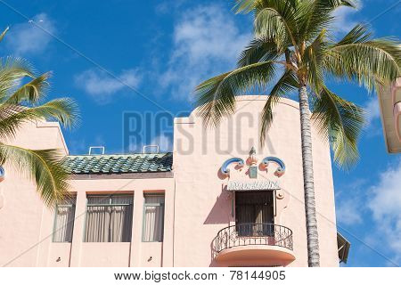 Spanish style colonial architecture