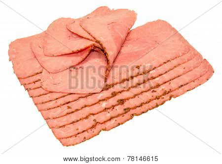 Pastrami Meat Slices