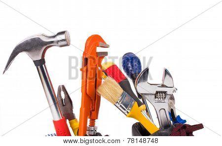 Various worker tools.