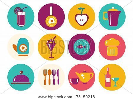 Kitchen Ware Icons
