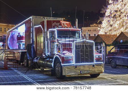 Christmas Coca-cola Truck