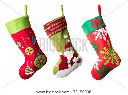 Three Christmas Stockings