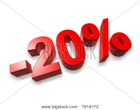 20% Twenty Percent