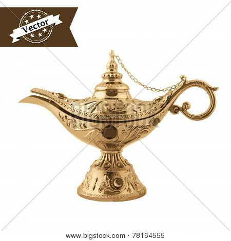 Aladdin Magic Lamp.