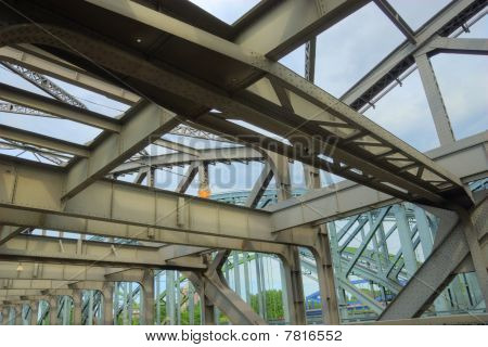 Industrial Age Steel Bridge
