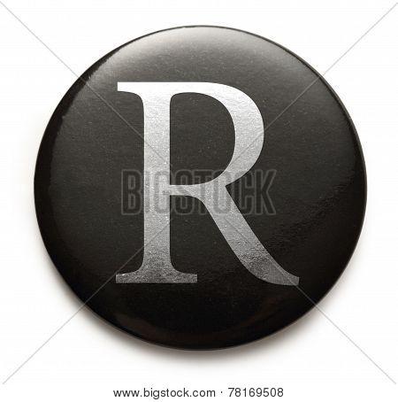 Latin Letter R