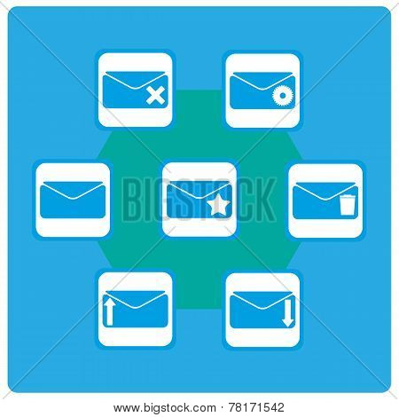 Vector Icons Mail