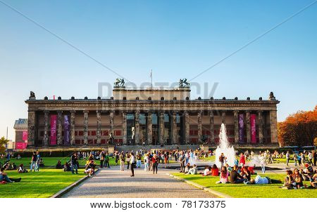 Altes Museum Building In Berlin, Germany