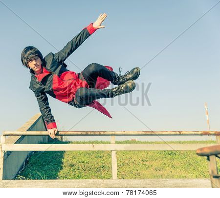 Parkour Athlete