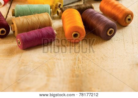 Colourful Bobbins