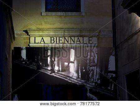Entrance Door For The Venice Biennale