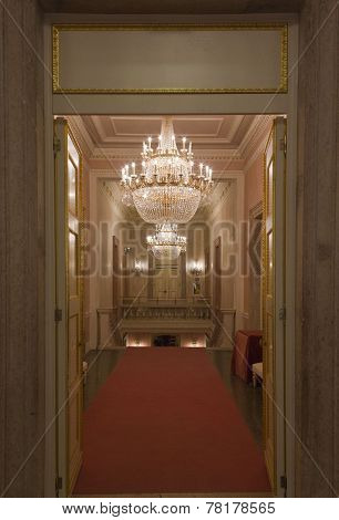 Interior Of La Fenice Theatre