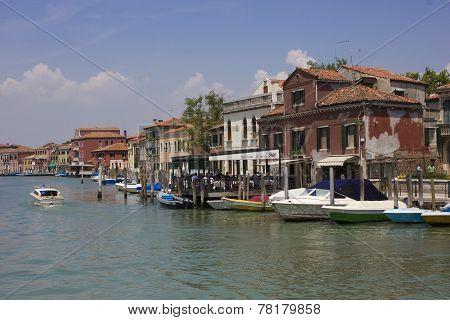 Murano island cityscape