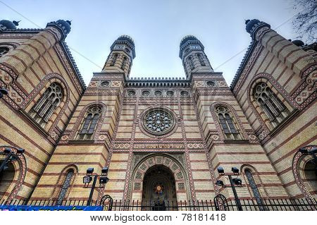 The Great Synagogue Of Budapest, Hungary