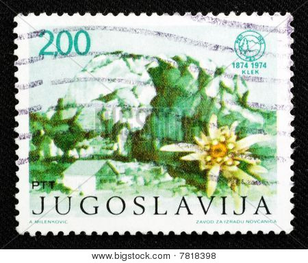 Old Stamp From Yugoslavia