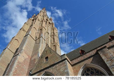 Church Of Our Lady In Bruges, Belgium