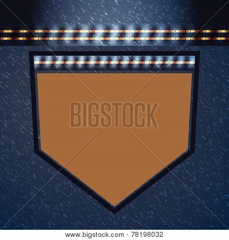 Jean Pocket Luxury Style Texture