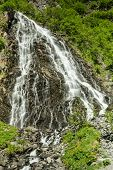 picture of bridal veil  - The Bridal Veil Falls near Valdez, Alaska