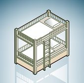 picture of bunk-bed  - Twin Bunk Bed  - JPG