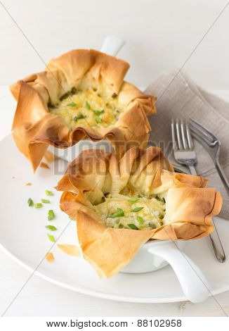 Onion mini tarts