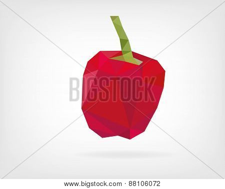 Low Poly Bell Pepper