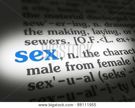 Dictionary Sex