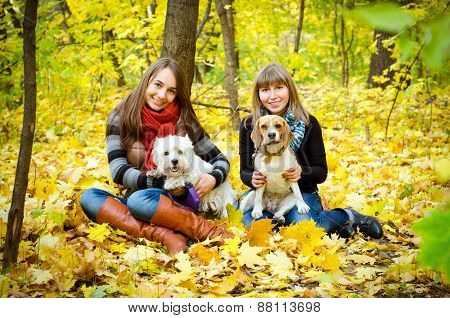 Women With Dogs