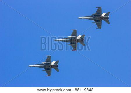 F-18 Hornets