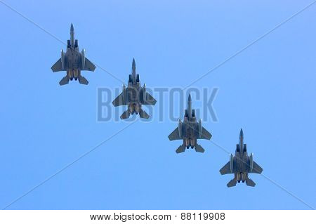 US Air Force F-15's