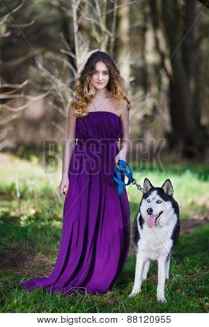 Husky And The Girl