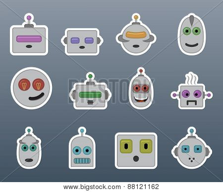 Stickers Robots