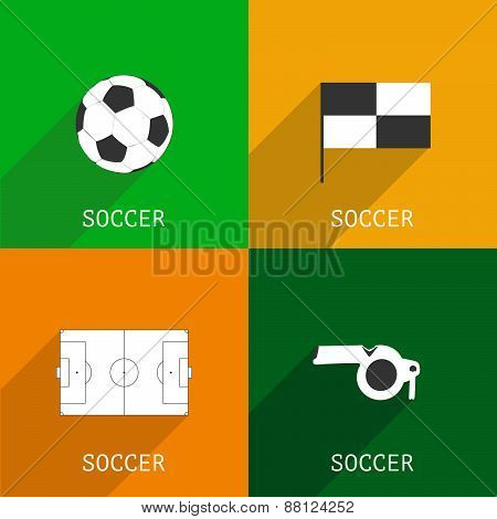 Football icons.