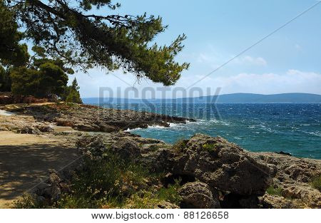 Landscape On The Island Hvar