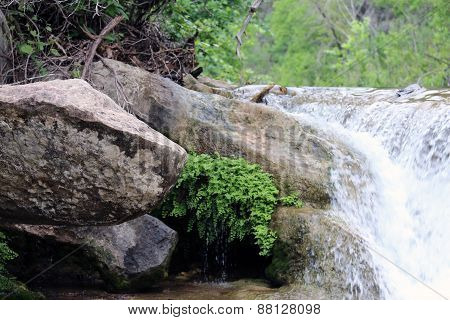 Stone Bridge Falls