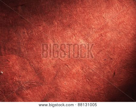 very old red paper