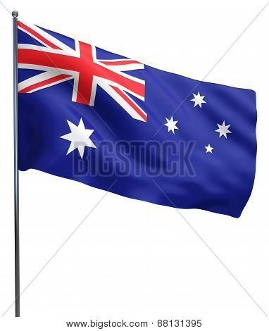 Australian Flag Isolated