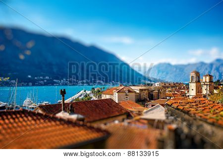 Kotor old city in Montenegro