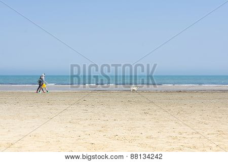 A Couple On The Beach
