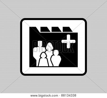 medicine industrial icon for patient medical record