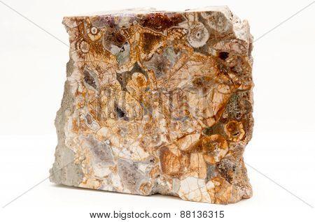 Zinc Amethyst With Royal Thyolite