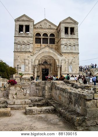 Church Of The Transfiguration In Israel
