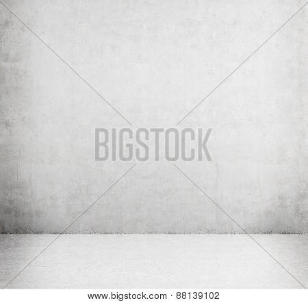 Concrete Empty Room