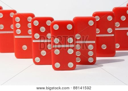 Red Dominoes
